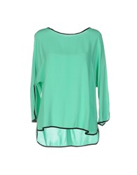 Sun 68 Shirts Light Green
