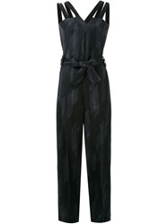Each X Other Deconstructed Loose Jumpsuit Black