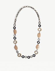 Max Mara Tivoli Resin Necklace Pink