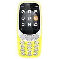 Nokia 3310 Mobile Phone 64Mb 3G 2.4 Qvga Yellow