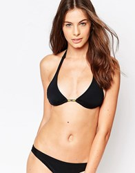 Raisins Triangle Mix And Match Bikini Top Blk Black