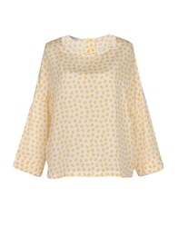 Rosso35 Blouses Yellow