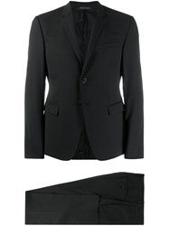 Giorgio Armani Slim Fit Suit Black