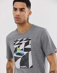 Element T Shirt With Skateboard Graphic In Grey