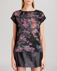 Ted Baker Tee Marica Holographic Halftone Black