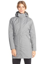 Patagonia 'Vosque' 3 In 1 Parka Gray