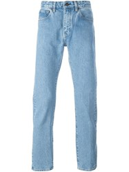 Levi's Made And Crafted Straight Leg Jeans Blue