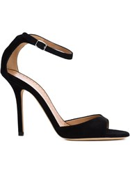 Alexa Wagner 'Nicole' Sandals Black