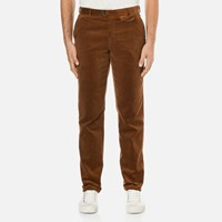 Oliver Spencer Men's Fishtail Trousers Cord Ginger