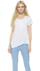 Tess Giberson Pieced Top White