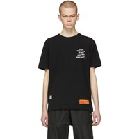 Heron Preston Black Metal Worker T Shirt