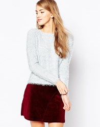 Sugarhill Boutique Fluffy Jumper Lilacgrey