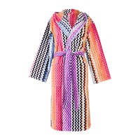 Missoni Home Stan Hooded Bathrobe 159 Multi