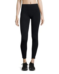 Nux Piper Textured Performance Leggings Black