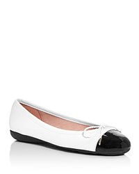 Paul Mayer Bravo Brighton Ballet Flats Black White