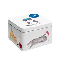 Magpie Jo Clark Cats And Hats Storage Tin