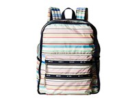 Le Sport Sac Functional Backpack Blossom Stripe Backpack Bags Multi