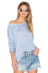Sundry Star Studded Tee Baby Blue