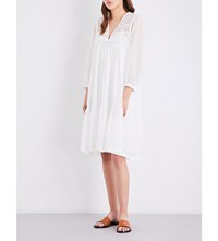 Closed Karol Cotton Voile Dress Blanched Almond