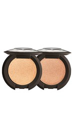 Becca Pop On The Glow Shimmering Skin Perfector Pressed Kit In Champagne Pop And Rose Gold. Champagne Pop And Rose Gold