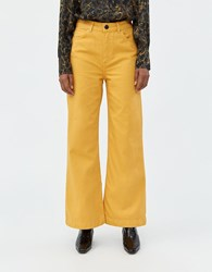Just Female Rilo Jeans In Sunflower