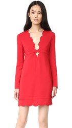 A.L.C. Eve Dress Crimson