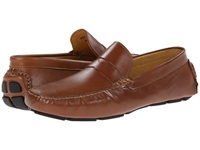 Massimo Matteo Penny Driver Tan Latego Men's Flat Shoes Brown