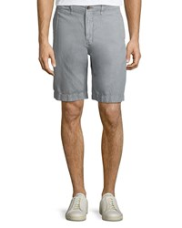 Billy Reid Clyde Cotton Linen Shorts Quarry
