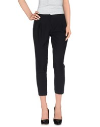 Atos Lombardini Trousers 3 4 Length Trousers Women Black