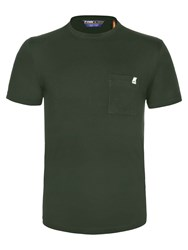K Way Edwing Short Sleeve T Shirt Green