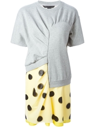 Marc By Marc Jacobs Asymmetric Panelled Dress