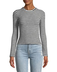 Goldie London Vision Bell Sleeve Fitted Tee Black White