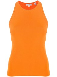 A.L.C. Knitted Tank Top Orange