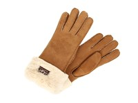 Ugg Classic Turn Cuff Glove Chestnut Extreme Cold Weather Gloves Brown