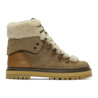 See By Chloe Taupe Eileen Boots