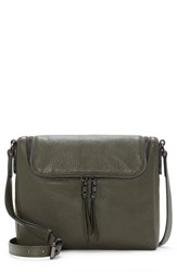 Vince Camuto Tuli Leather Crossbody Bag Green Pine Forest