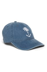 O'neill Women's Bliss Embroidered Ball Cap Blue Chambray