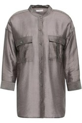Joie Woven Shirt Army Green
