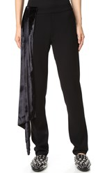 Baja East Sparkle Velvet Pants Galaxy