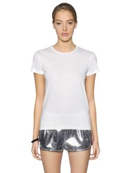 Moncler Gamme Rouge Cotton Jersey T Shirt