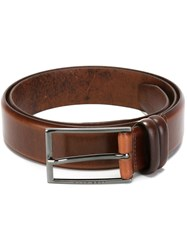 Hugo Boss Buckle Belt Brown