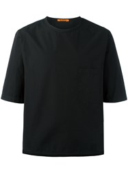 Barena Chest Pocket Boxy T Shirt Black