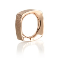 Kristjan Eyjolfsson On The Rocks Square Ring Rose Gold