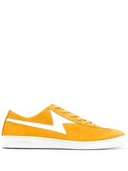 Paul Smith Ps Low Top Lightning Sneakers Yellow