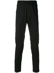 Low Brand Side Stripe Tailored Joggers Black