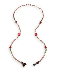 Corinne Mccormack Berry Beaded Eyeglass Necklace Multi Colored