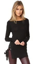 Feel The Piece Corrine Sweater Black Velvet
