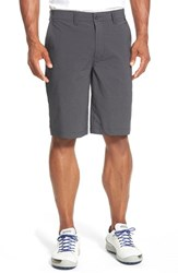 Travis Mathew Men's 'Hefner' Stretch Golf Shorts Dark Grey
