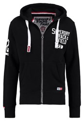 Superdry Trackster No Use Tracksuit Top Black