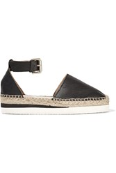 See By Chloe Glyn Leather Espadrilles
